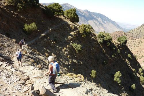 G_wandelen in de bergen en Marrakech10