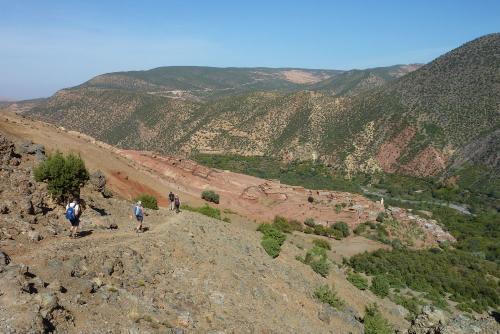G_wandelen in de bergen en Marrakech3
